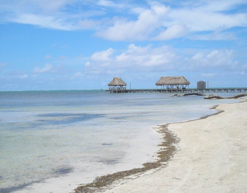 Belize beach