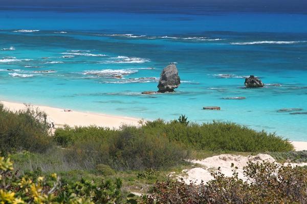 Bermuda turquoise beach