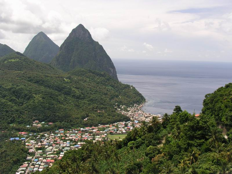 St Lucia, Helen of the Caribbean