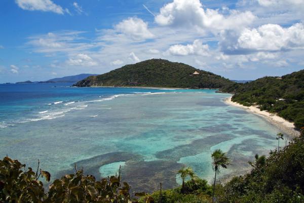 British Virgin Islands, SCRUB Island,NORTH BEACH