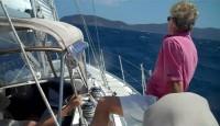 Sailing in St. Thomas