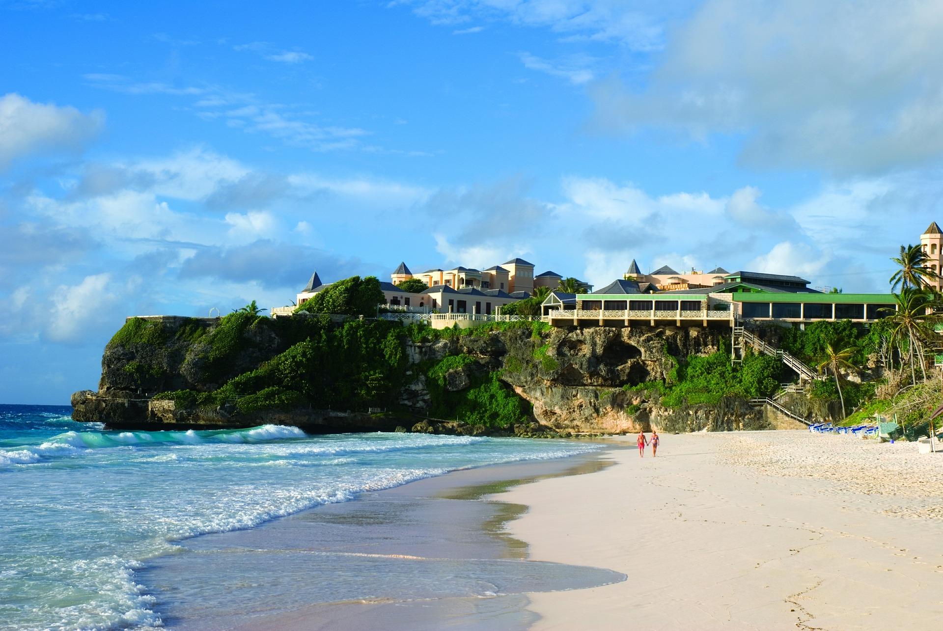 Barbados beach hotel