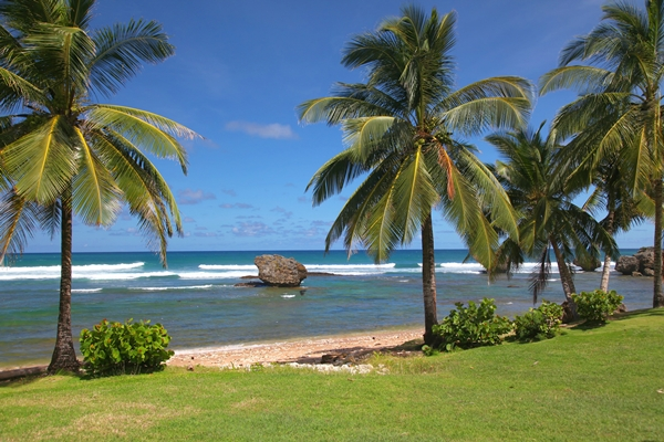 Barbados, Bathsheba beach