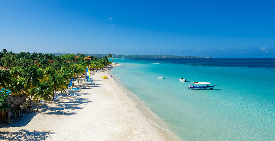 Beaches in Negril